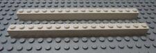 LEGO 2 White Brick 1x16 6285 10040 8085 60204 6398 4956 3181 6560 1548 7498 4532
