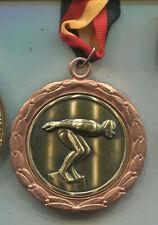 Schwimmen Bronze  mit Bronzerand 65 mm (ko167)