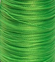 Flo Fluorescent Green BCY Nock & Peep Bow String Serving Bowstring Nylon 10 yds