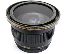 Ultra Super HD Panoramic Fisheye Lens For Panasonic HC-X900M HC-X900K