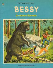 BESSY 107 - DE BLANKE SJAMAAN (1e druk)- W. Vandersteen