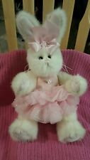 "Bunny Ballerina with TuTu Bearington Collection Plush 13"" Toy"