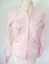Lockre Sitzende Damenblusen,-Tops & -Shirts mit Baumwolle ohne Muster für Party
