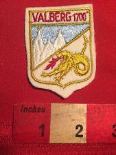 Vintage VALBERG 1700 France Patch - Alpine Snow Ski Mountain 82XX