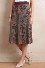 NEW Anthropologie Lumi Sweater Skirt Size XS Shimmer Metallic