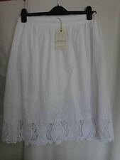 M & S Indigo Cotton Lined Skirt BNWT Size 10