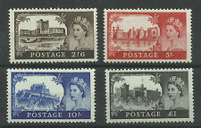 A Set of 1967 No Watermark Castles,Unmounted Mint.