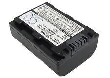 BATTERIA agli ioni di litio per SONY HDR-UX9E DCR-DVD810 HDR-SR10 HDR-CX6 DCR-DVD505E NP-FH50
