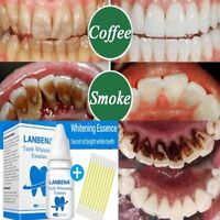 LANBENA Teeth Whitening Essence Serum Plaque Stains Remove Liquid Oral Care O8P9