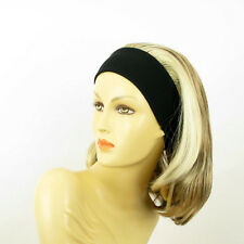 headband wig mid long blond copper wick clear and chocolate ref: MADY 15613h4