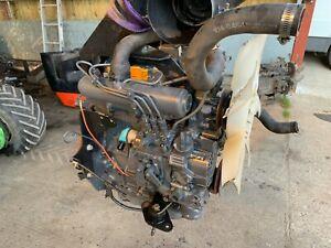 Kubota D1105-T-EU2 turbo engine. Complete, running, warranted engine ..£1200+VAT