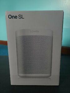 Sonos One SL Microphone-Free Smart Speaker - White (ONESLUS1)