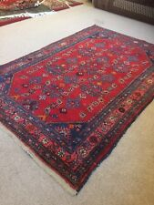 A HAND KNOTTED MALAYER RUG, 200CM X 135CM