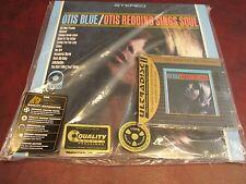 OTIS REDDING OTIS BLUE MFSL 24 KARAT GOLD CD W/ J-CARD + 45 SPEED DOUBLE LP SET