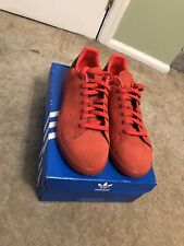 Adidas Stan Smith Suede Red RARE size 9.5 US - S80032