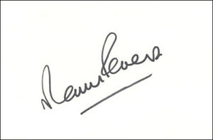 Martin Peters Signed White Card 1966 World Cup West Ham Spurs 100% AUTHENTICATED