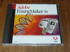 Adobe FrameMaker 7.0 englische Vollversion für Windows