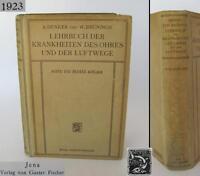 1923 ANTIQUE GERMAN MEDICAL HARDCOVER BOOK