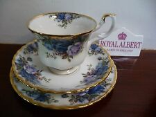 Royal Albert Vintage  'MOONLIGHT  ROSE' Tea Trio  Made in  England Good Quality