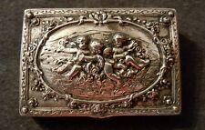 Silberdose Dose 800 Silber Antik Silver Box Antique