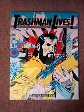TRASHMAN LIVES!- Spain Rodriguez (SUBVERT*BLAB), '89 FANTAGRAPHICS 1st Ed.*RARE!