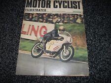 VINTAGE MOTOR CYCLIST ILLUSTRATED MAGAZINE - December 1969