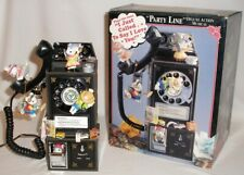 1992 Enesco Deluxe Action Musical - Party Line - Pay Phone Mice - In Box - New