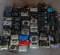 JOB LOT 53 x Vintage Point & Click 35mm Lomography Cameras - Canon, Nikon etc
