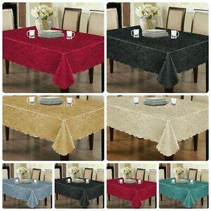 New Super Top Quality Jacquard Damask Table cloths Napkins Table Runner all size