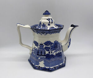 E C Challinor Fenton Teapot Vintage Ironstone