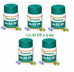 LIV 52 DS 5X Bottles Himalaya Liver Care Officially with Certificates EXP. 2023