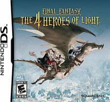 Final Fantasy The 4 Heroes of Light BRAND NEW SEALED  (Nintendo DS, 2010)