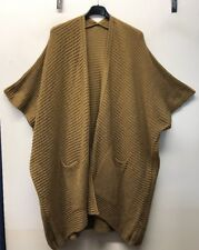 Ladies Lagenlook Plus Size Pocket Cape Cardigan Size 16-24 LAST ONE