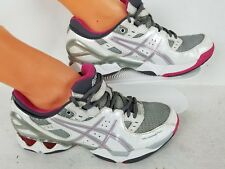 new concept 264d2 d4d6e Women s Asics Gel-Intensity 2 White Gray Running Shoes Athletic Sneakers  Size 9