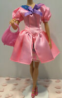 Barbie Doll Clothes Lot - Dress, Shoes, Purse - Mattel Vintage 1990s - LOT