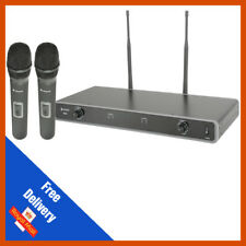 Chord NU2-H Dual UHF Wireless Handheld Microphone System (863.8MHz + 864.8MHz)