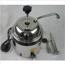 Hot Fudge Nacho Cheese Chocolate Dispenser Warmer cheese water heating machine m