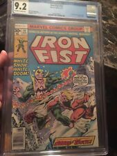 Iron Fist #14 CGC 9.2 OW/W KEY *1st Appearance of Sabretooth* (Victor Creed)