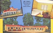 Roanoke Alabama~Baird Motor Court on US Route 431~Baby Beds 1950s
