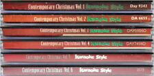 Contemporary Christmas Volumes 1, 2, 3, 4, 5 & 6 Karaoke NEW CD+G 36 Songs