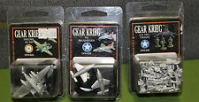 Gear Krieg Miniatures : US Hell Troops, Snecma SE-500, Roughrider Sealed in pk!!