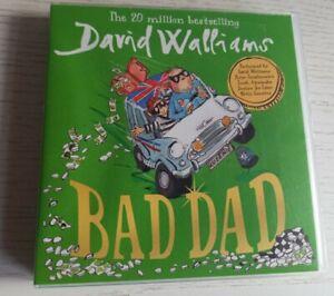 DAVID WALLIAMS. BAD DAD. AUDIO CD SET . 5 CD'S.