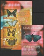 Dominica 2009 MNH MS+SS, Butterflies, Insects