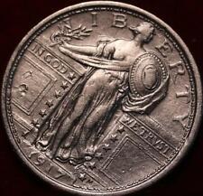 Uncirculated 1917 Philadelphia Mint Silver Standing Liberty Quarter