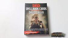 DUNGEONS E DRAGONS RPG GF9 Spellbook carte-DRUIDO CERCHI