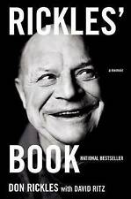 Rickles' Book: A Memoir by Don Rickles (Paperback, 2008)