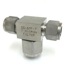 TEE-Tipo di filtro del particolato SS-8TF-7 NuPro SS8TF7