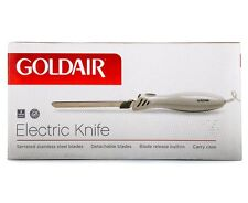 GoldAir Electric Knife 100W Meat Bread Cheese - Detachable Blades Carry Case