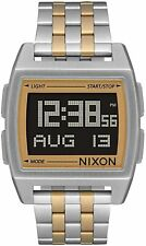 Nixon Women's Base A11071431-00 38mm Black Dial Stainless Steel Watch