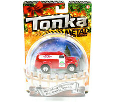 Tonka Holiday Express Delivery Truck, Metal Diecast Bodies Stocking Stuffer